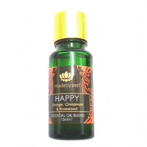 HAPPY Purity Range - Scented Essential Oil Blend Made By Zen 15ml